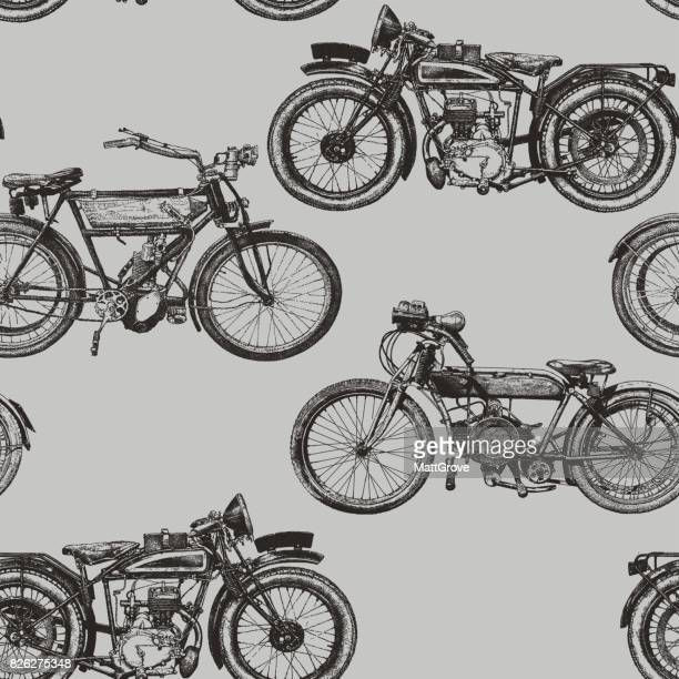 Motorbike Repeat Pattern