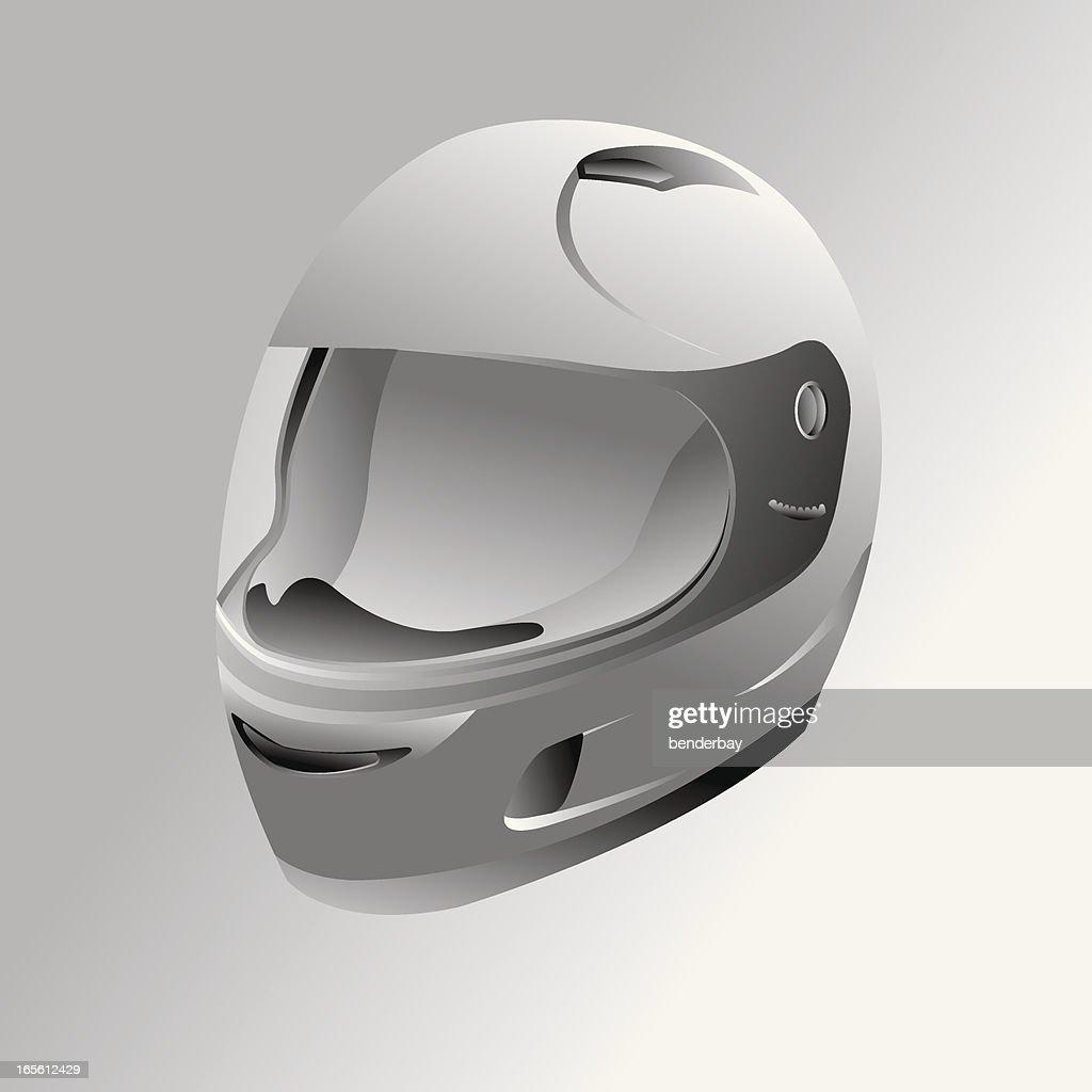 Motorcycle helmet : stock illustration