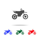 Motorcycle  icons. Elements of transport element in multi colored icons. Premium quality graphic design icon. Simple icon for websites, web design