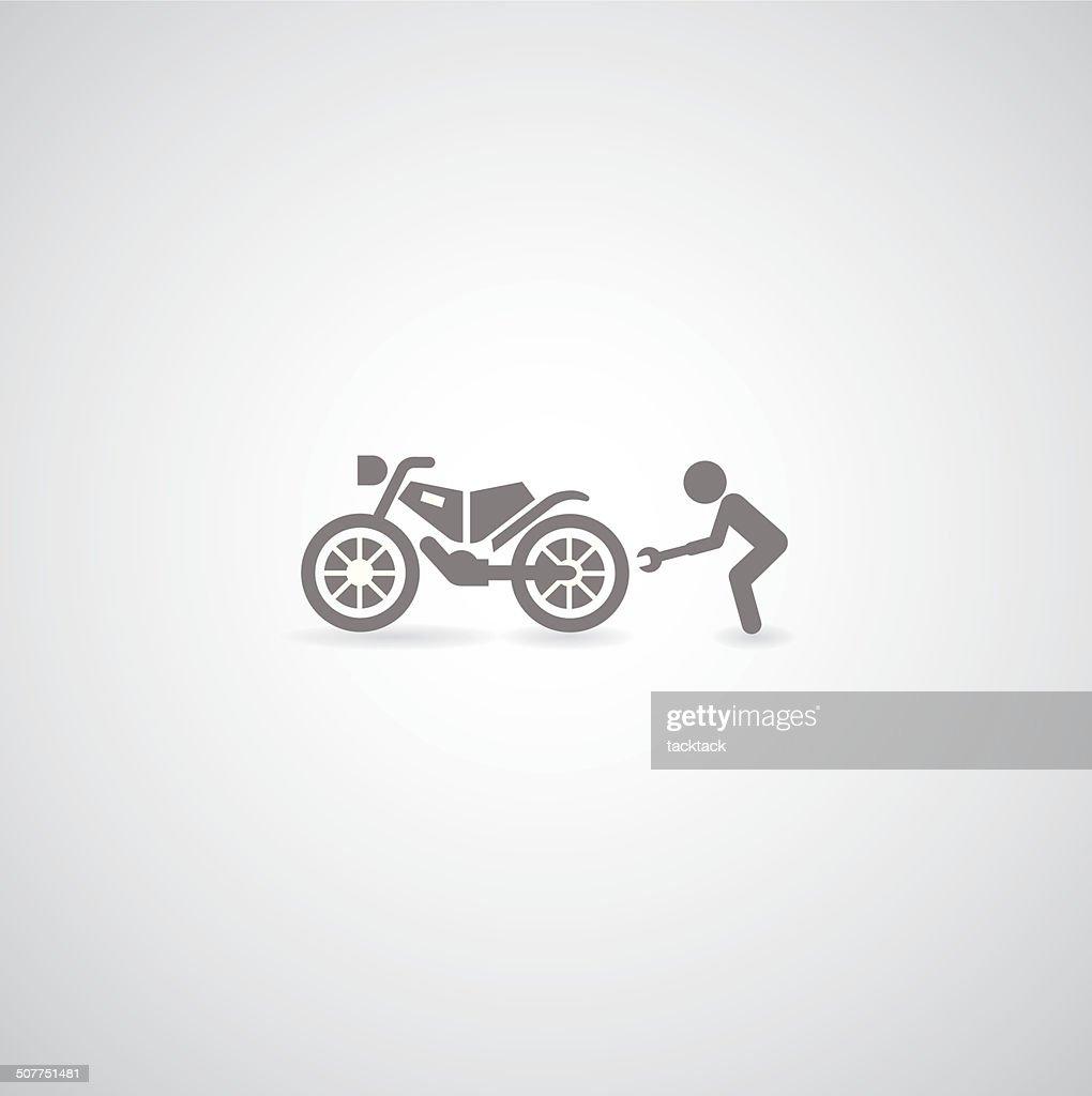 Motorcycle symbol