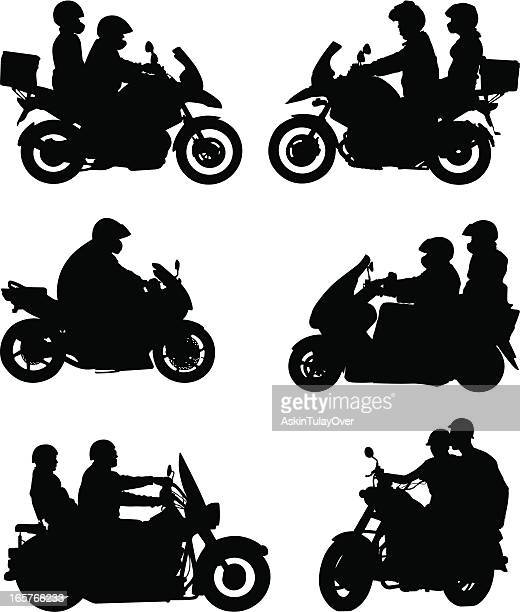 motorcycle - motorcycle helmet stock illustrations, clip art, cartoons, & icons