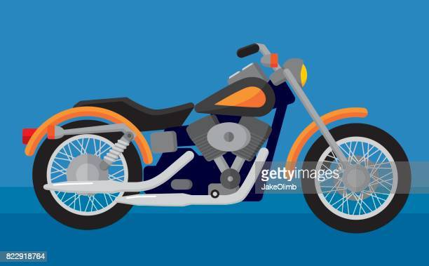 motorcycle - motorcycle rider stock illustrations, clip art, cartoons, & icons