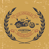 Motorcycle vintage graphics, t-shirt typography, Vintage. Vector