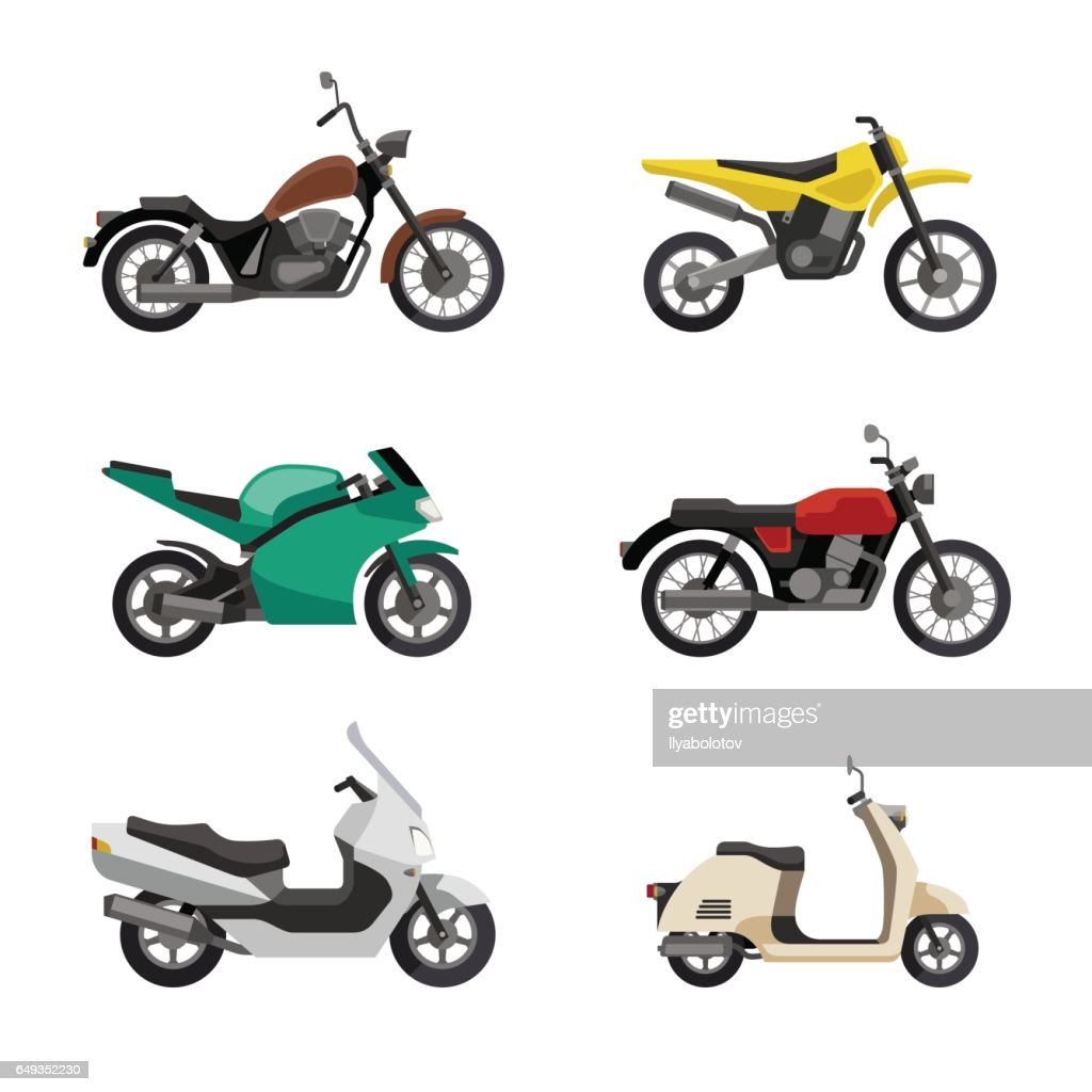 Motorcycles and scooters