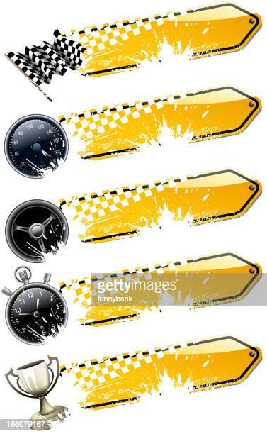 motorized sport banners