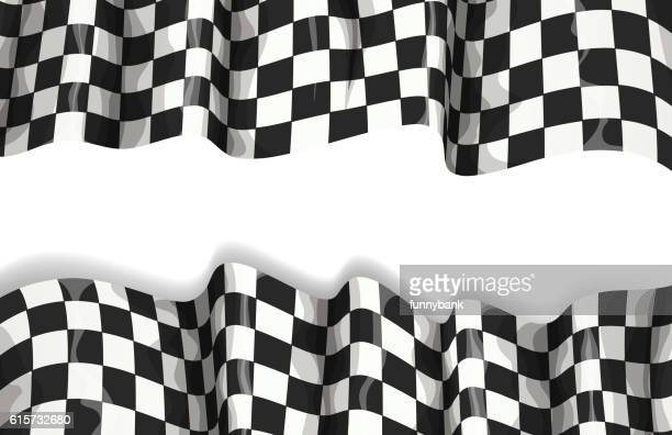 motorsport banner - race car stock illustrations, clip art, cartoons, & icons