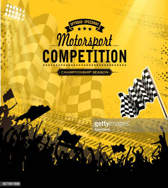 motorsport competition - race car stock illustrations, clip art, cartoons, & icons