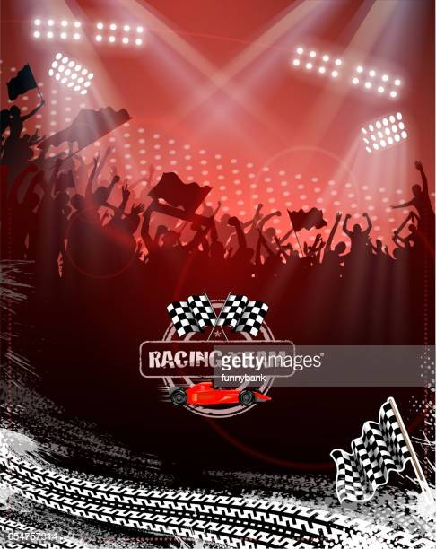 motorsport fun - race car stock illustrations, clip art, cartoons, & icons