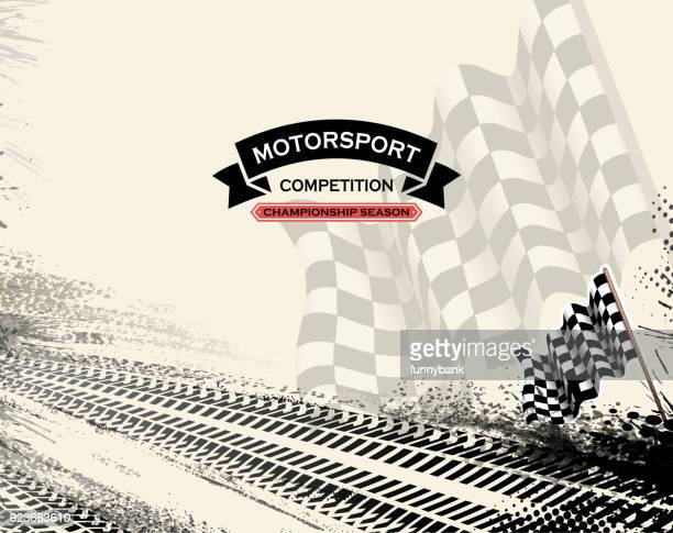 motorsport racing - race car stock illustrations, clip art, cartoons, & icons