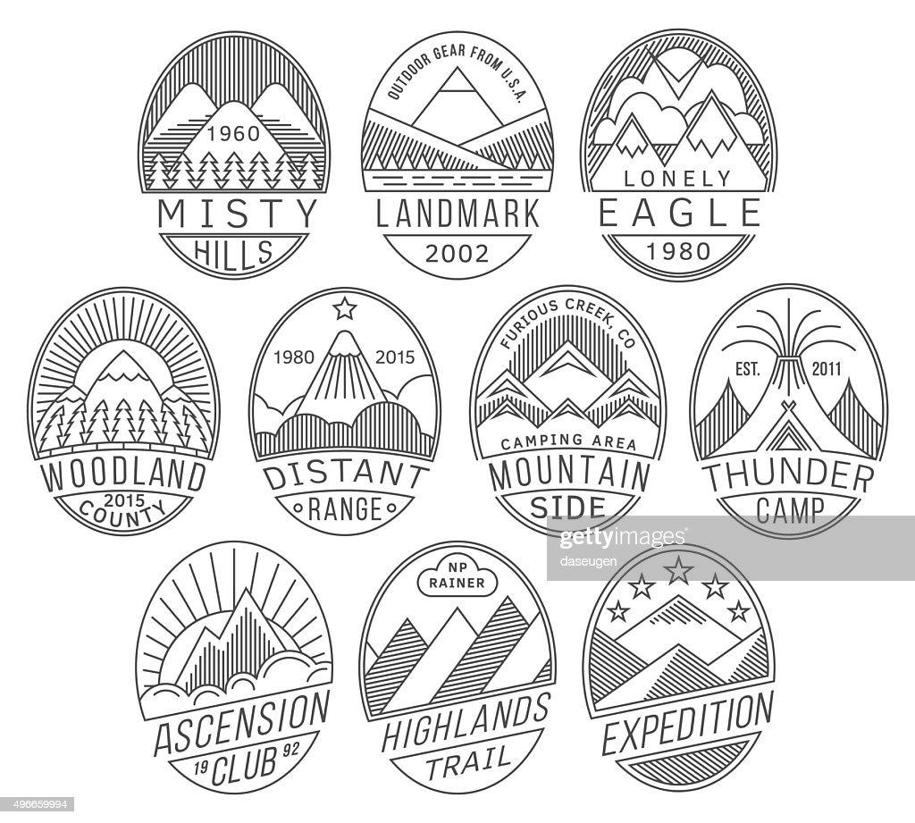 Mountain badges2 linear
