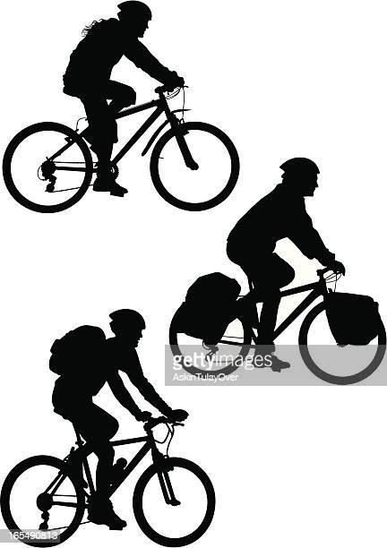 ilustrações de stock, clip art, desenhos animados e ícones de bicicleta de montanha - mountain bike