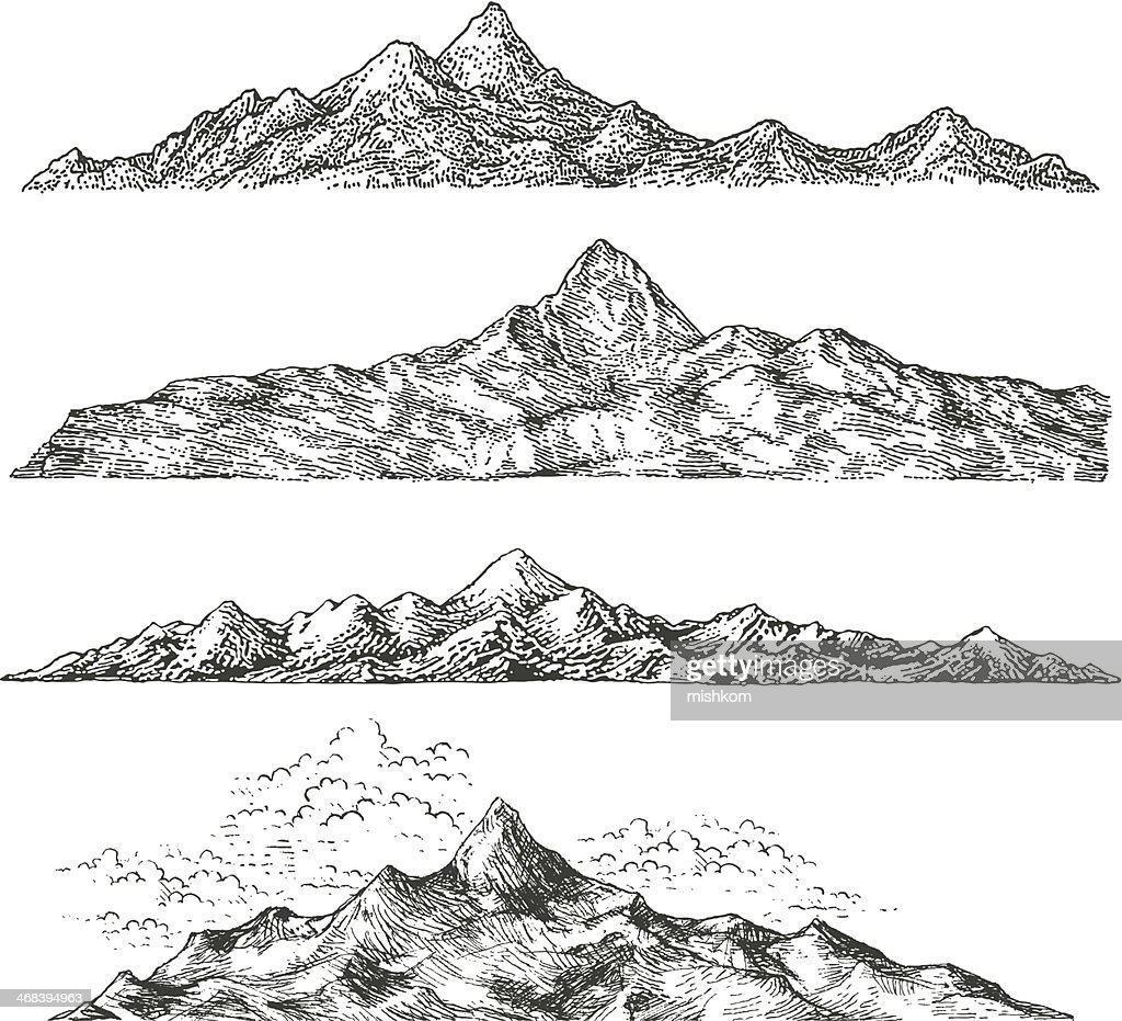 Mountain Drawings