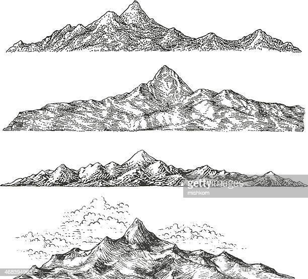 Mountain Drawings