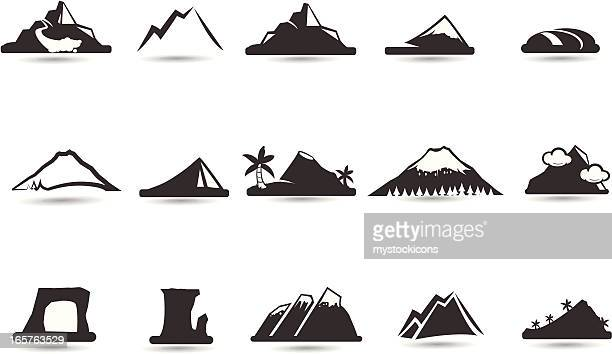 Mountain-Icons und Symbole