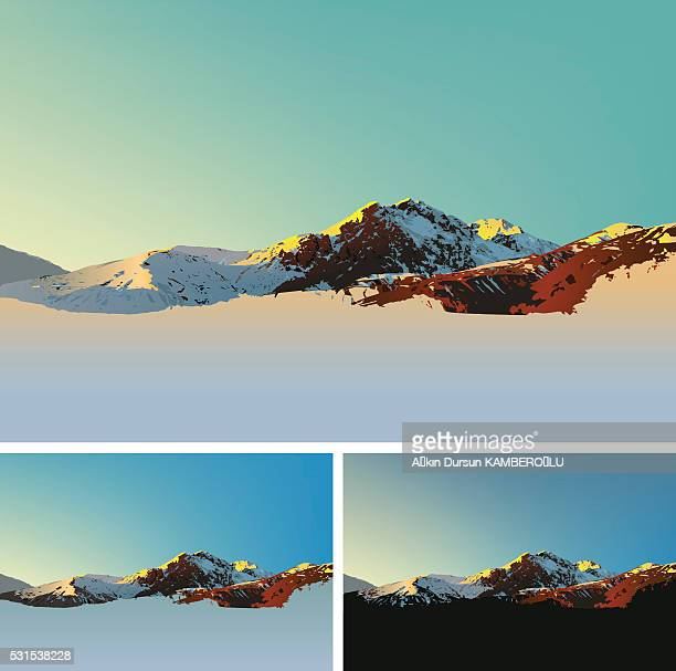 Mountain Illustrationen