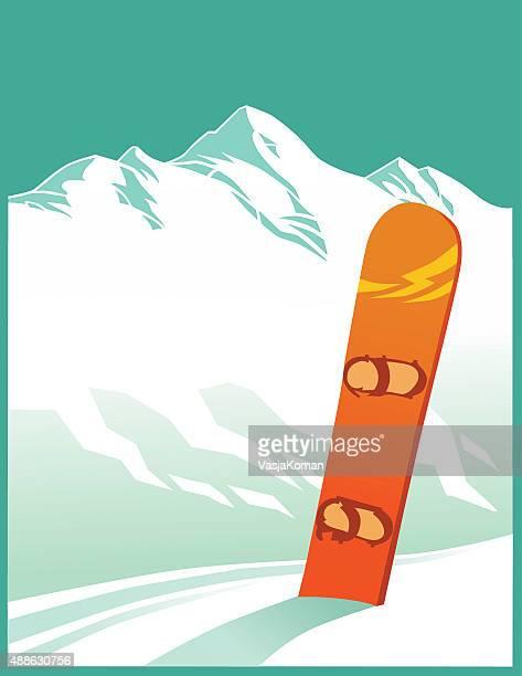60点のスノーボード板のイラスト素材クリップアート素材マンガ素材