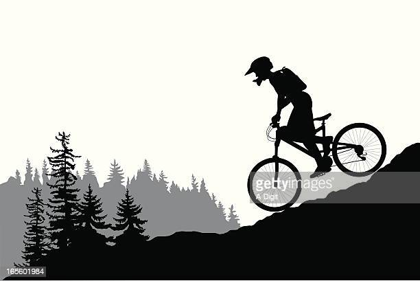 Mountain Bike Stock Illustrations And Cartoons | Getty Images