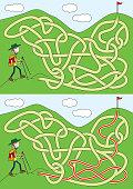 Mountaineer maze