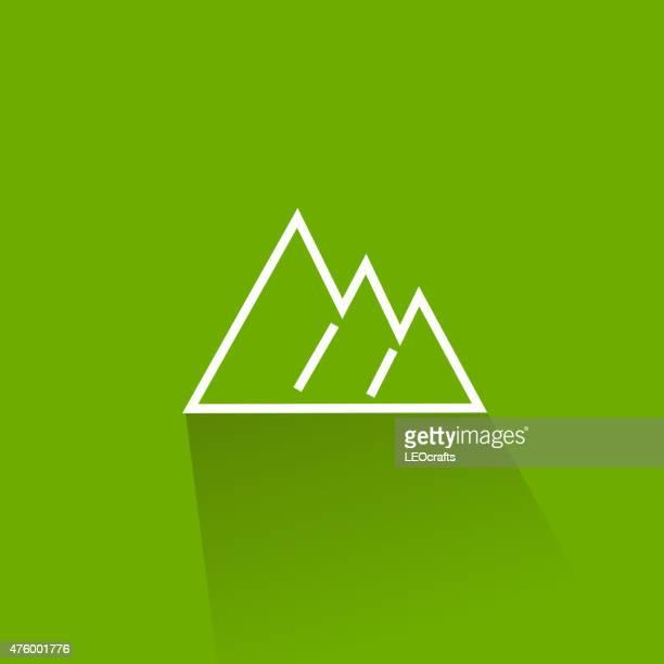Icono de las montañas