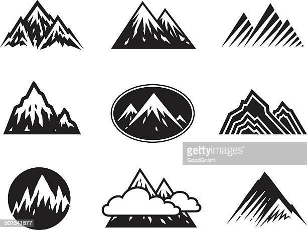 Iconos de las montañas