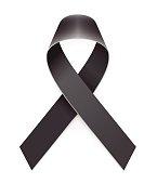 Mourning Black Awareness Ribbon