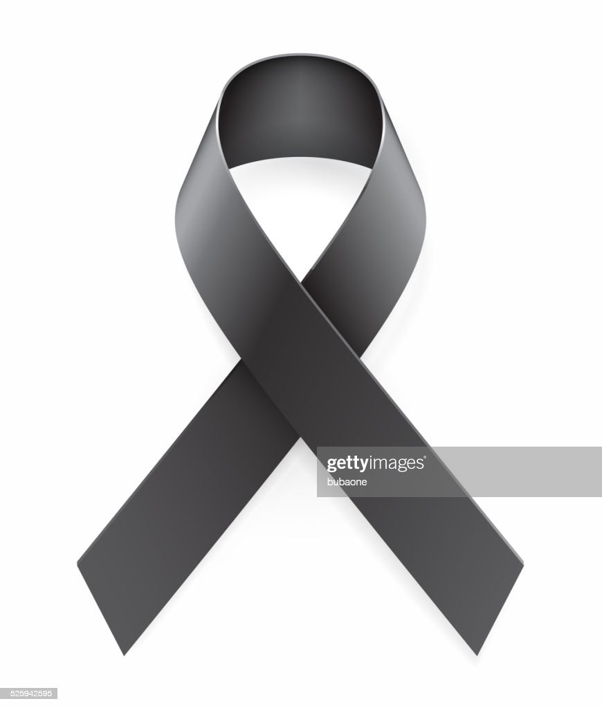 Mourning Black Awareness Ribbon