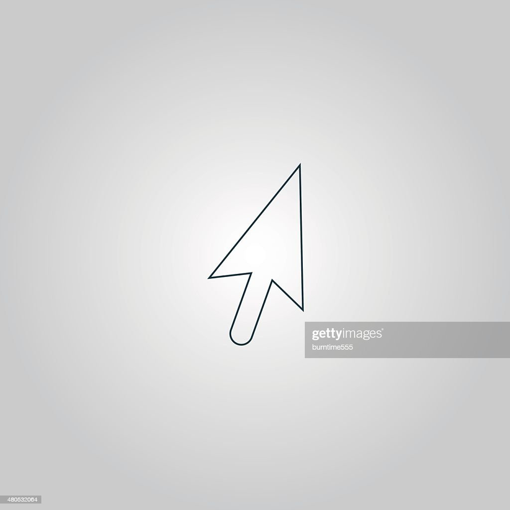 mouse arrow cursor icon - illustration : Vector Art