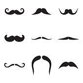 Moustache Icons