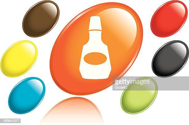 mouthwash icon - mouthwash stock illustrations