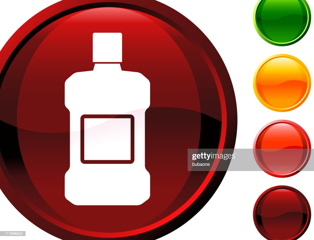 mouthwash internet royalty free vector art : stock illustration