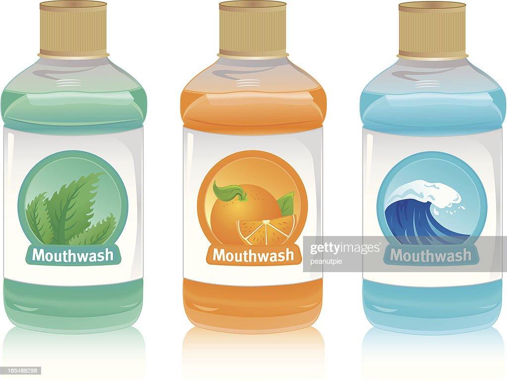 Mouthwash : Stock Illustration