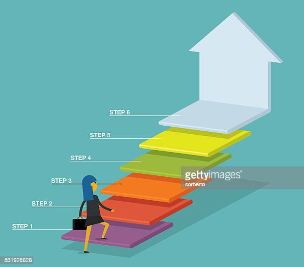 move up - finance and economy stock illustrations, clip art, cartoons, & icons