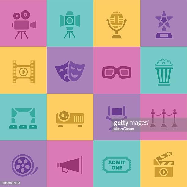 Movie and Cinema Icons