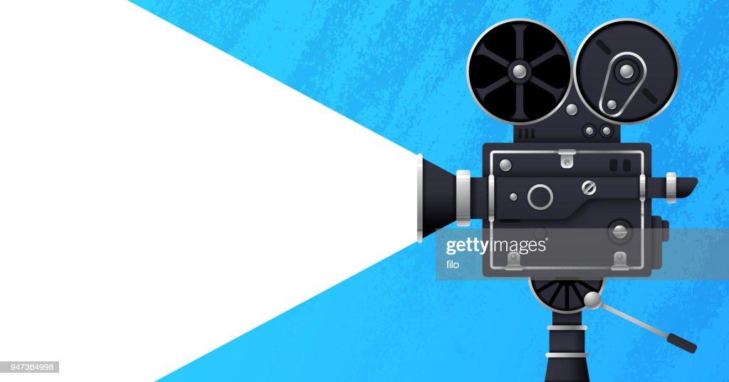 Movie and Film Banner : stock illustration