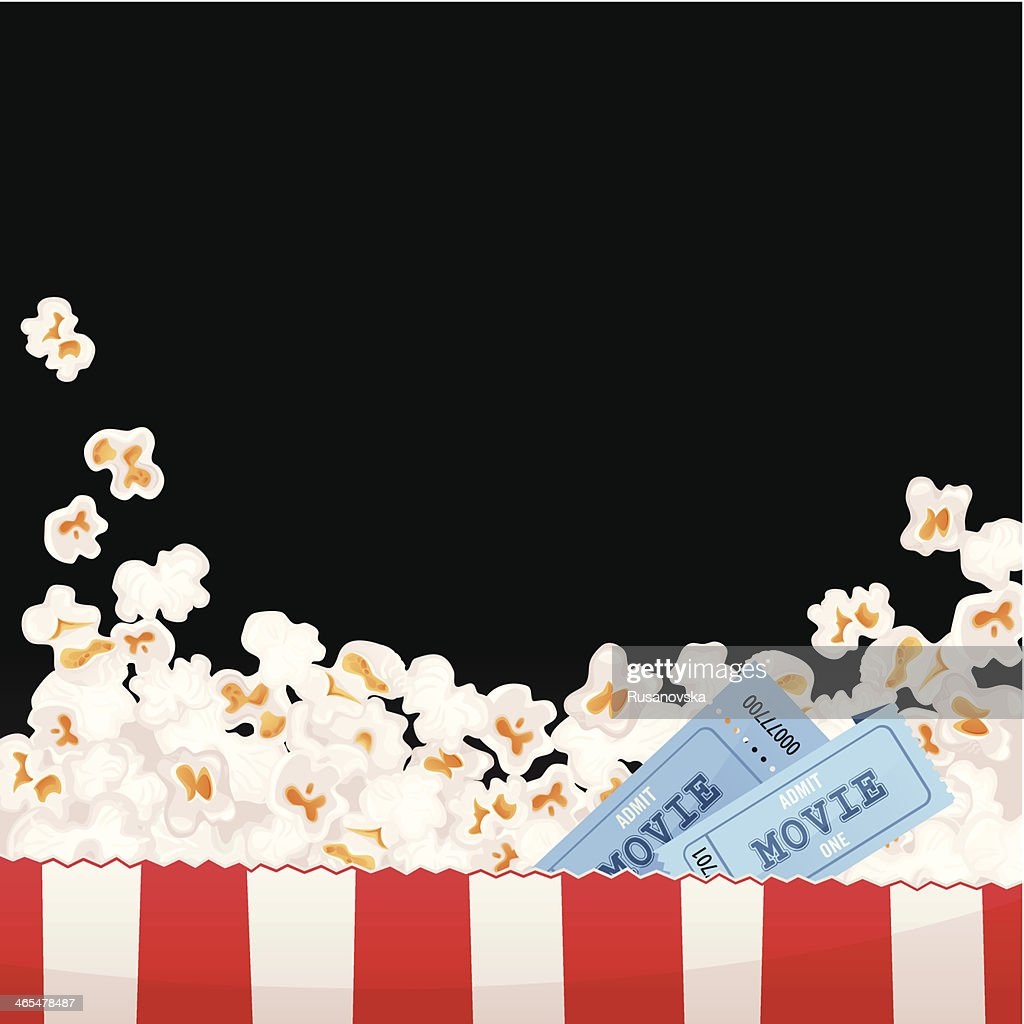 Movie Background : stock illustration