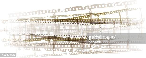 movie backround - film industry stock illustrations