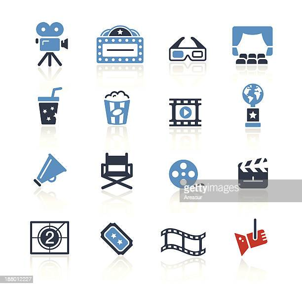 Movie & Cinema Icons Two Color | Pro Series