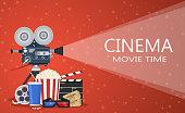 Movie cinema premiere poster design