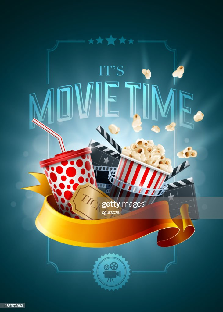 Movie concept poster design template