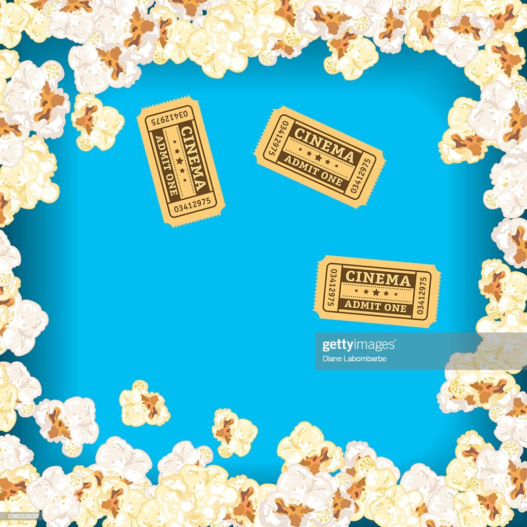 Movie Night Background Black Curtain And Film Vector Art Getty Images