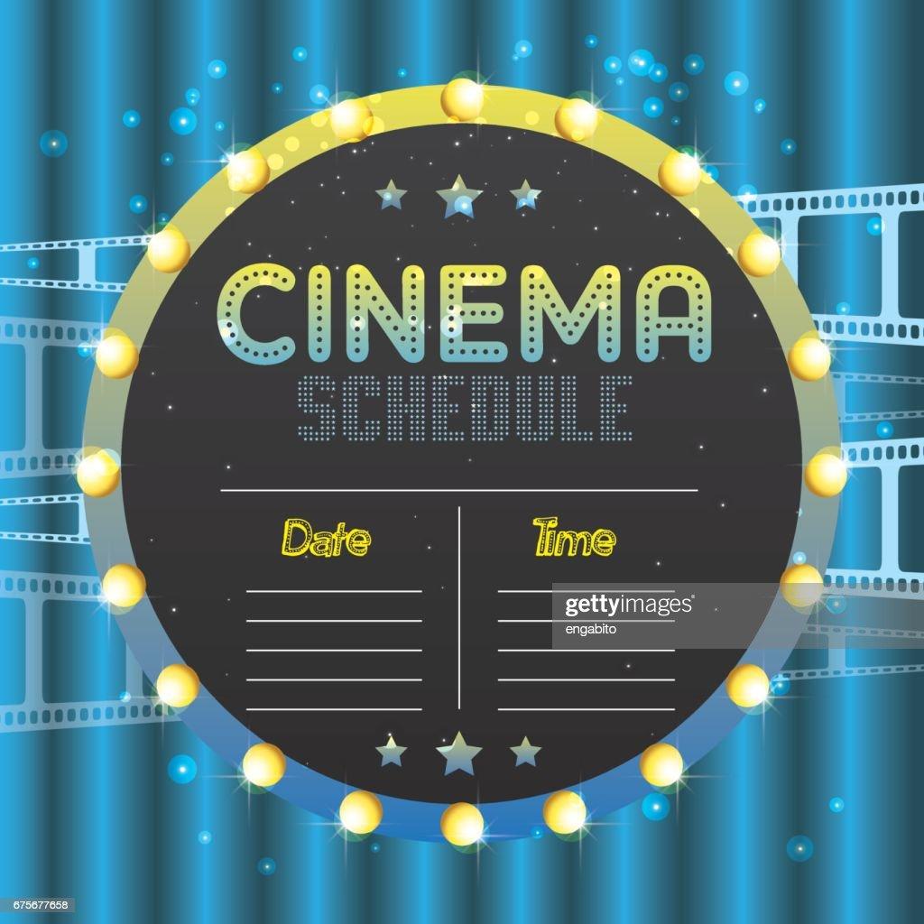 Film Plakat Event Für Festivals Banner Broschüre Flyer Vorlage Mit ...