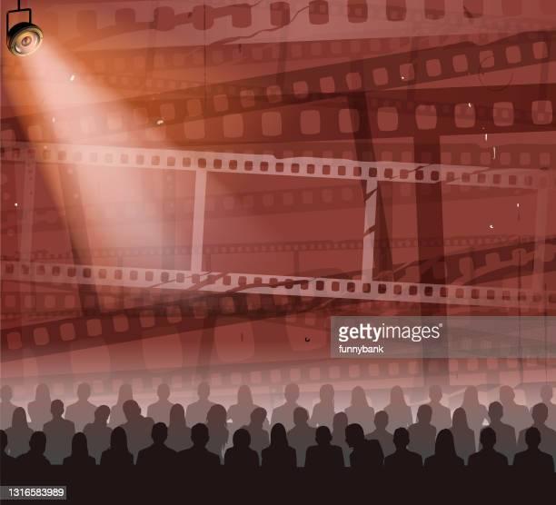 movie season - glühend stock illustrations