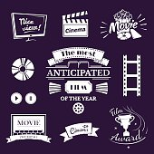 Movie signs set