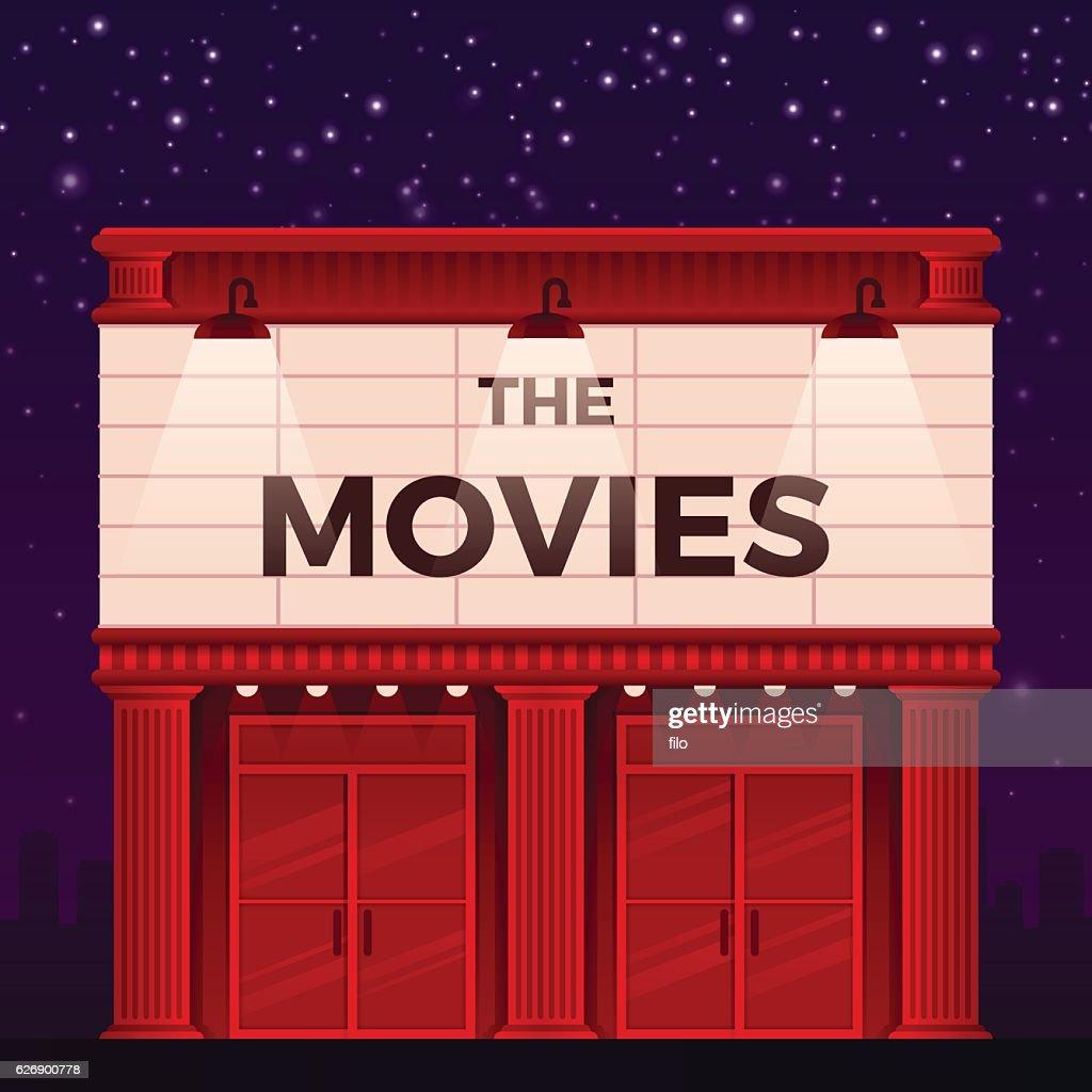 Movie Theater : stock illustration