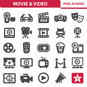 Movie & Video Icons