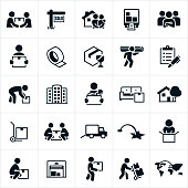 Moving and Relocation Icons