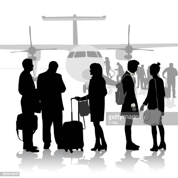 moving away fight - business travel stock illustrations, clip art, cartoons, & icons