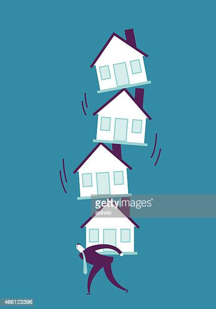 moving house - conversion sport stock illustrations