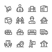 Moving Icons - Line Series