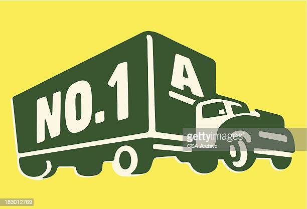 moving truck - relocation stock illustrations